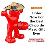 Willy the Wine Lover Wine Bottle Stopper Gift Item- Perfect for Mothers Day Gift or Cinco de Mayo decorations