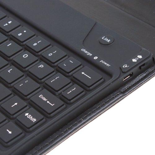 eWonder(R) Wireless Bluetooth Keyboard Case for Blackberry Playbook 7-Inch Tablet (Black)