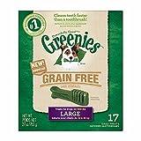 GREENIES Grain Free Dental Chews Large Treats for Dogs - 27 oz.
