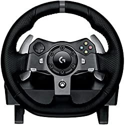 Logitech G920 Racing Lenkrad Driving Force für Xbox One, PC