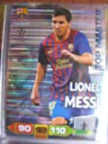 Lionel Messi Top Master Rare Card Panini Adrenalyn Champions League 2011 / 2012