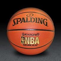 NBA Neverflat Hexagrip Composite Basketball Size 7 (29.5