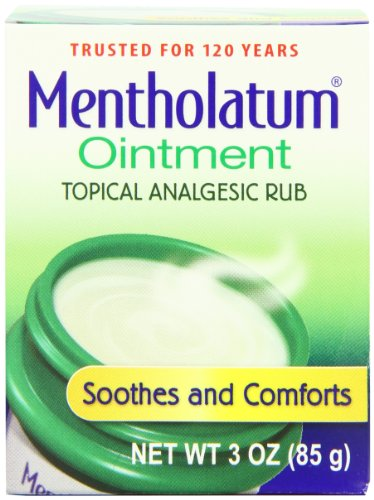 Mentholatum Ointment, 3-Ounce (85 g) (Pack of