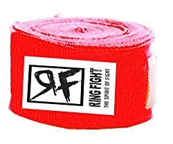 Ring Fight Red Hand Wrap 180