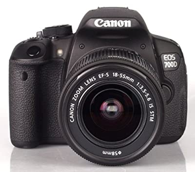 Canon EOS 700D + EF-S 18-55mm 3.5-5.6 IS STM - International Version (No Warranty)