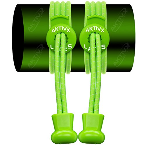 AKTIVX-SPORTS-No-Tie-Shoe-Laces-for-Golf-Shoes-Voted-The-1-Golf-Gift-of-2016-Top-Golf-Accessories-for-Golfers-Replacement-Golfing-Shoelaces-Golf-Equipment