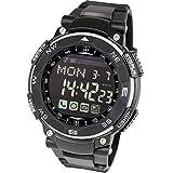 [LAD WEATHER] スマートウォッチ iphone,アンドロイド対応 デジタル腕時計 メンズ スポーツ ランニング ウォッチ