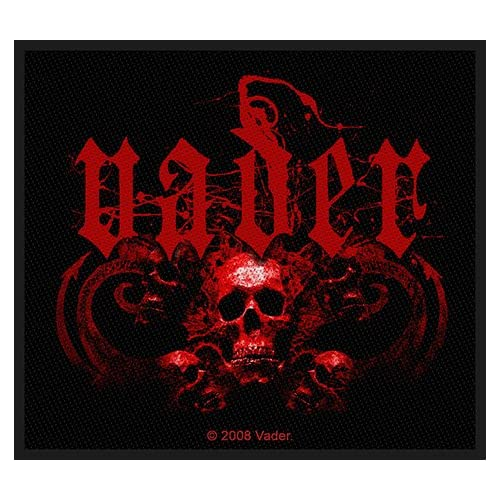 Amazon.com: Vader Skulls Death Metal Music Band Woven Patch