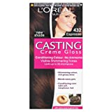 L'Oreal Paris Casting Creme Gloss Hair Colourant 432 Rich Espresso