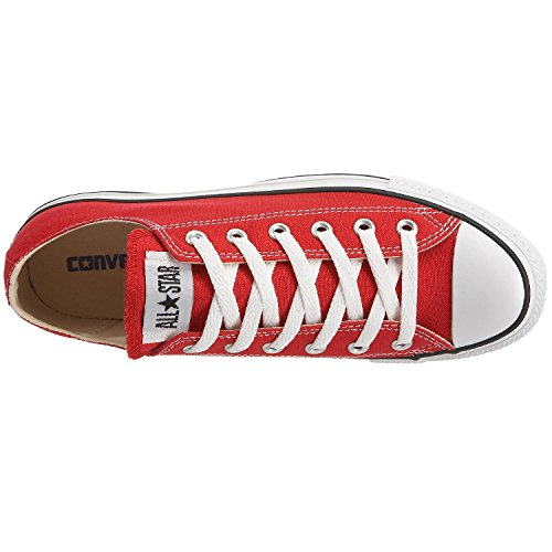 Converse Boys' Youths Chuck Taylor All Star Ox Red - 3 YTH