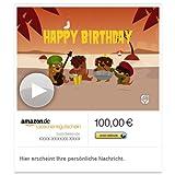 Amazon.de Gutschein per E-Mail mit Animation (Reggaeständchen) [American Greetings]