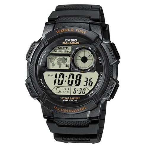 Casio Men's AE-1000W-1AVDF Sporty Digital Quartz Watch
