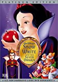 echange, troc Snow White and the Seven Dwarfs (Disney Platinum Edition) [Import USA Zone 1]