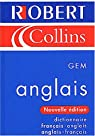Le Robert and Collins GEM : Dictionnaire français-anglais anglais-français