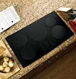 "GE PHP960DMBB Profile 36"" Black Electric Induction Cooktop"
