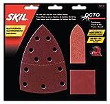 SKIL 73114 Octo Sandpaper Kit, Asst Grit - 15 Pack