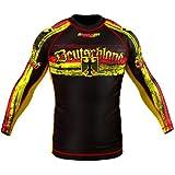 SMMASH Rashguard GERMANY Langarm S M L XL XXL XXXL MMA BJJ UFC Kampfsport K1