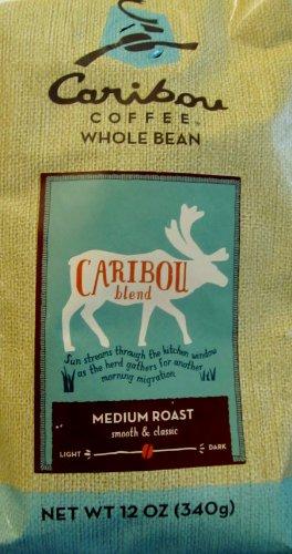 Caribou Coffee, Whole Bean, Caribou Blend 12 Ounces