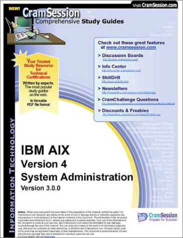 CramSession\'s IBM AIX Version 4 System Administration ...