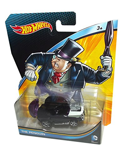 2015 Hot Wheels DC Universe The Penguin 1:64 Scale Collectible Die Cast Car