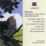 Britten Favourite Folk Song Arrangements