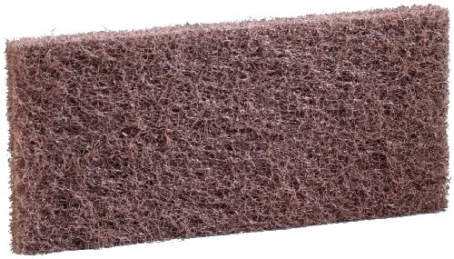 3M Doodlebug Brown Scrub `n Strip Pad 8541, 4.625