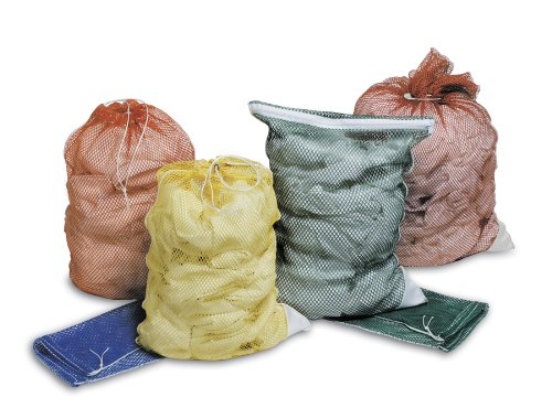 Medline Mdt2436Mdid Washable Mesh Laundry Bags, White (Pack Of 12) front-608185