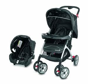 safety 1st travel system black baby. Black Bedroom Furniture Sets. Home Design Ideas