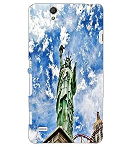 SONY XPERIA C4 STATUE Back Cover by PRINTSWAG