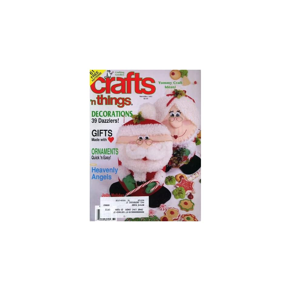 Crafts n Things November 1993: Crafts n Things: Books