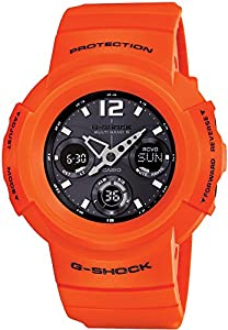 Casio G-shock Rescue Orange Series Solar Multiband 6 Awg-m510mr-4ajf Men's