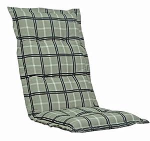 Kettler 0309505-8730 Coussin pour chaise 100 x 50 x 8 cm (Carreaux) (Import Allemagne)