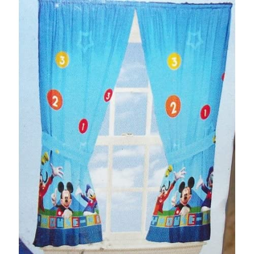 Mickey Mouse Clubhouse Panels Curtains