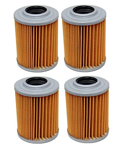Factory Spec, FS-713, Four Oil Filters Bombardier Can Am Outlander 800 R Max 800R HO EFI XT (Can Am Renegade 500 Oil Filter compare prices)