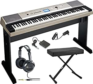 Yamaha YPG-535 88-key Portable Grand Graded-Action USB