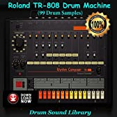 Roland Tr-808 Drum Machine (99 Drum Samples)