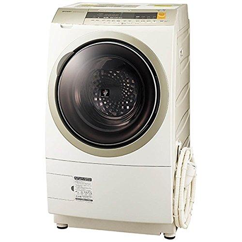 シャープ 10.0kg ドラム式洗濯乾燥機【右開き】 ゴールド系SHARP ES-ZP1-NR