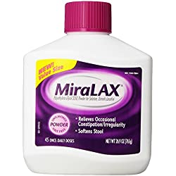 MiraLAX Laxatives, 26.9 Ounce