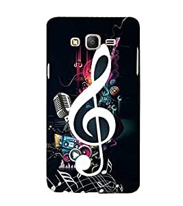 Music Special 3D Hard Polycarbonate Designer Back Case Cover for Samsung Galaxy On7 :: Samsung Galaxy On 7 G600FY