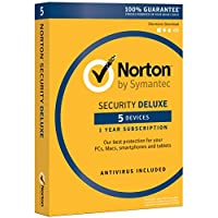 Norton Security Deluxe - 5 Devices [PC/Mac Download]