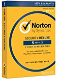 Norton Security Deluxe - 5 Devices | PC/Mac Online Code [Online Code]