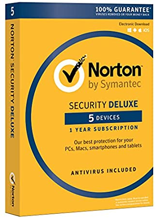 Norton Security Deluxe - 5 Devices | PC/Mac Online Code