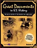 img - for Great Documents in U.s. History: The Age of Reform to the Present Day (1880-2001) book / textbook / text book