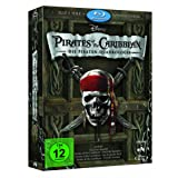 "Pirates of the Caribbean - Die Piraten-Quadrologie  (8 Blu-Rays) [Blu-ray]von ""Johnny Depp"""