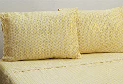Plover Organics Gold Circles Sheet Set (King)