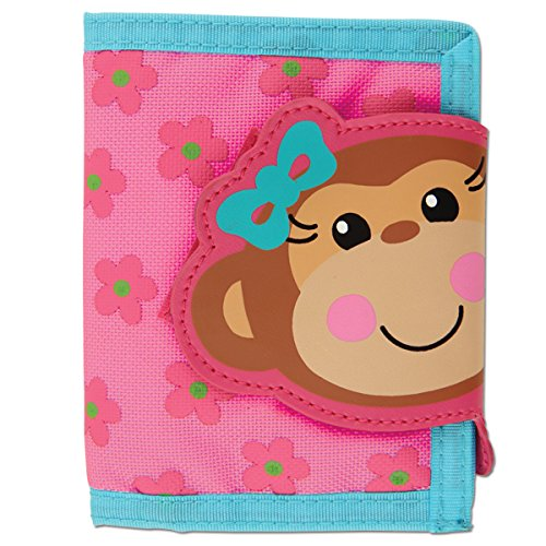 Stephen Joseph Girl Monkey Wallet