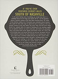 Jack Daniel's Cookbook: Stories and Kitchen Secrets from Miss