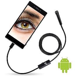 耳掃除 USB接続エンドスコープ(内視鏡)アンドロイド対応 撮影 写真 スコープ LED6灯搭載 フレキシブル カメラ 防水 録画 [並行輸入品]