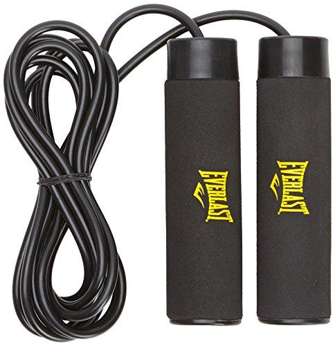 Everlast - Corda per saltare con pesi, 907 g, colore: nero