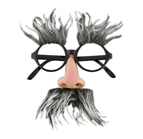 Adult STD- Geezer/Groucho Marx Glasses